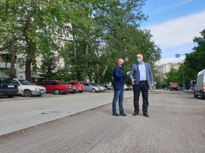 Тече реконструкция на ключова пътна артерия в Тракия