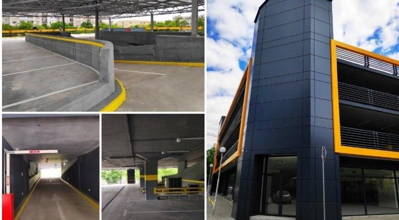 Единственият общински многоетажен паркинг в Пловдив е завършен – очаква първите коли