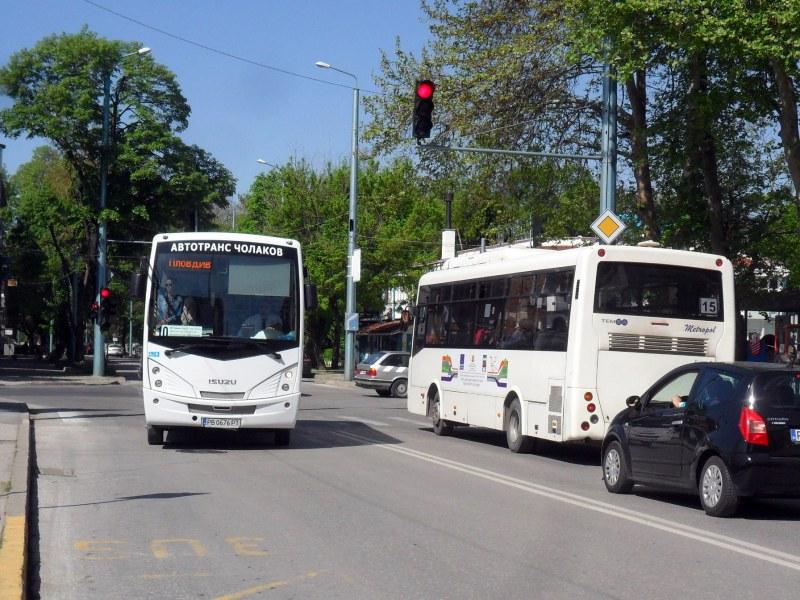 """Затварят за движение и част от улица """"Владивосток"""" заради авария"""