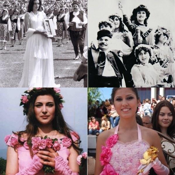 Поглед назад: Ето ги карловските Царици на Розата през годините