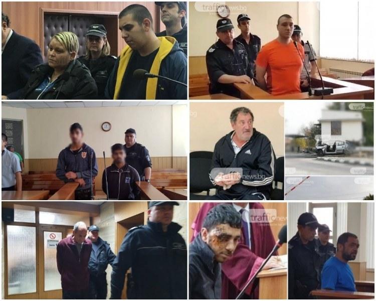 Заседанията в съда започват! Убийци от Пловдив и Асеновград застават пред магистратите