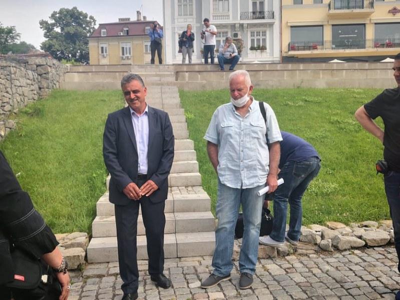 Търсят гробницата на Малтепе, реставрират срутената стена