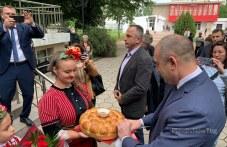 Президентът Румен Радев, пристигна в Садово