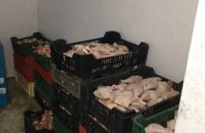 Проверка в цех за месо край Садово! Унищожават 1 тон нелегално месо