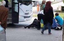 Автобус блъсна възрастен мъж в Пловдив, влачил го няколко метра