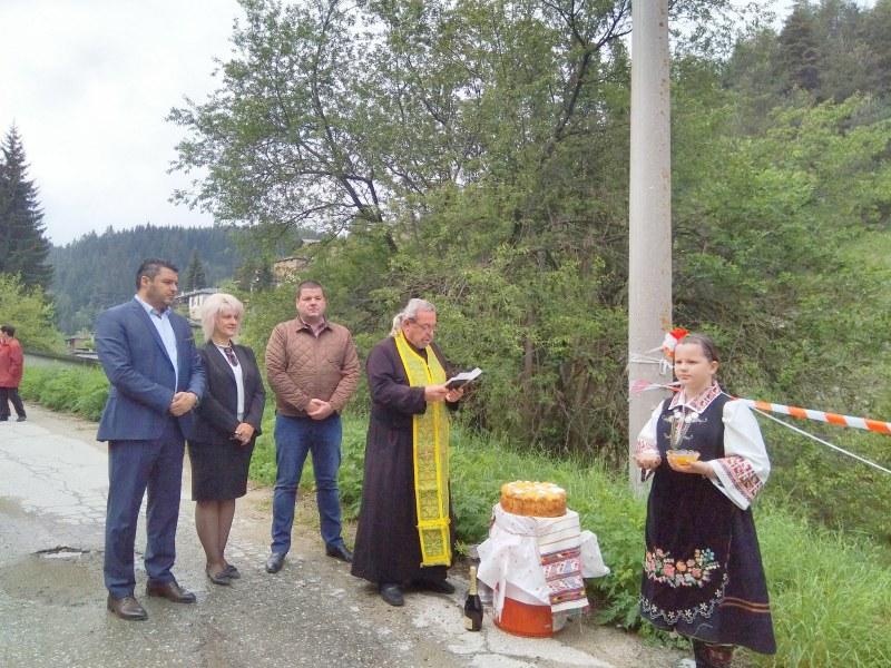 Укрепват пътя за родопското село Ситово заради пропадането