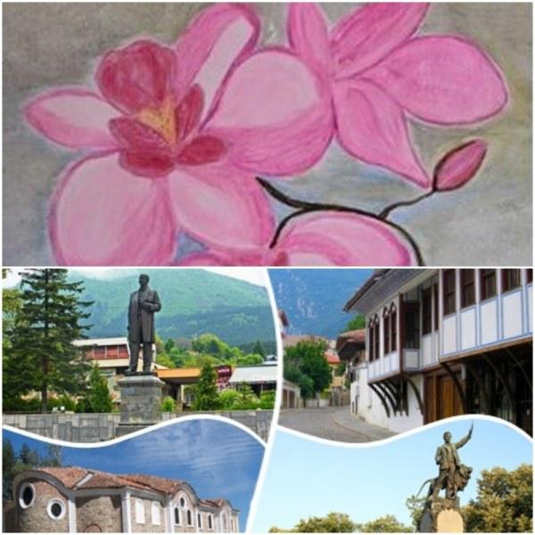 Празник на цветята! Лятна изложба откриват карловски художници