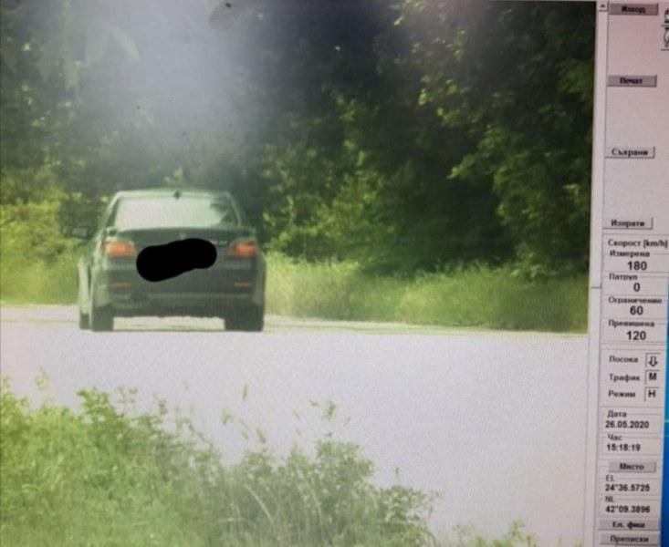 Камерите пак засякоха джигит! БМВ профуча със 180 км/час по пловдивски булевард