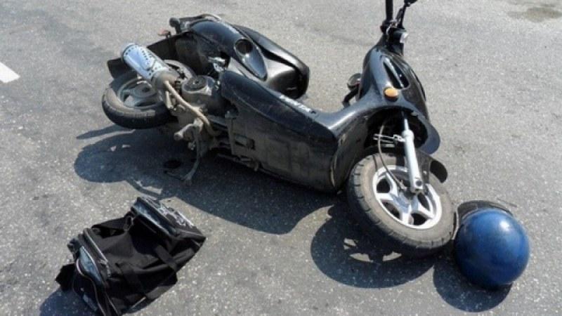Тийнейджър от Куклен катастрофира с чужд мотопед, пиян шофьор хванаха в Пловдив