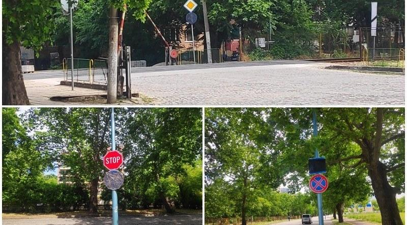 """Еднопосочното по бул. """"Копривщица"""" отпадна заради """"страх от колапс"""", но защо знаците стоят?"""
