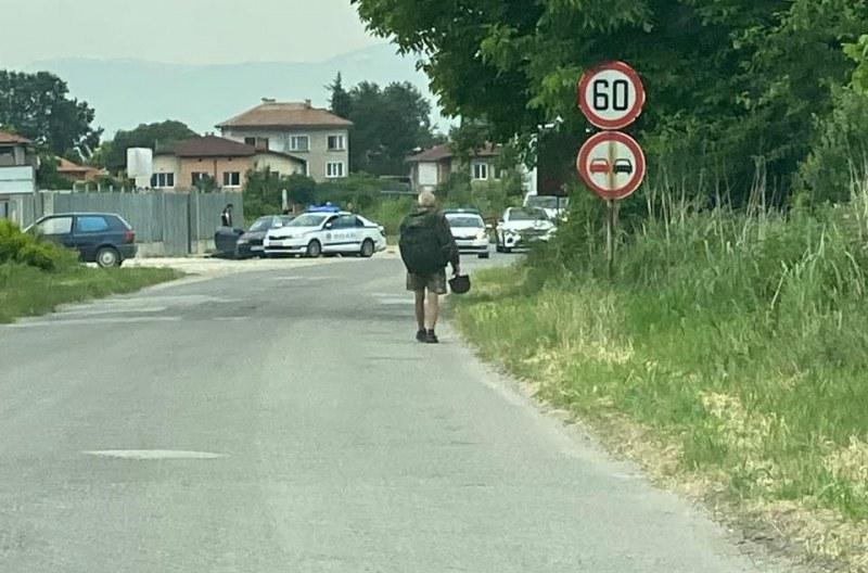 BMW и полиция с луда гонка посред бял ден в Пловдив