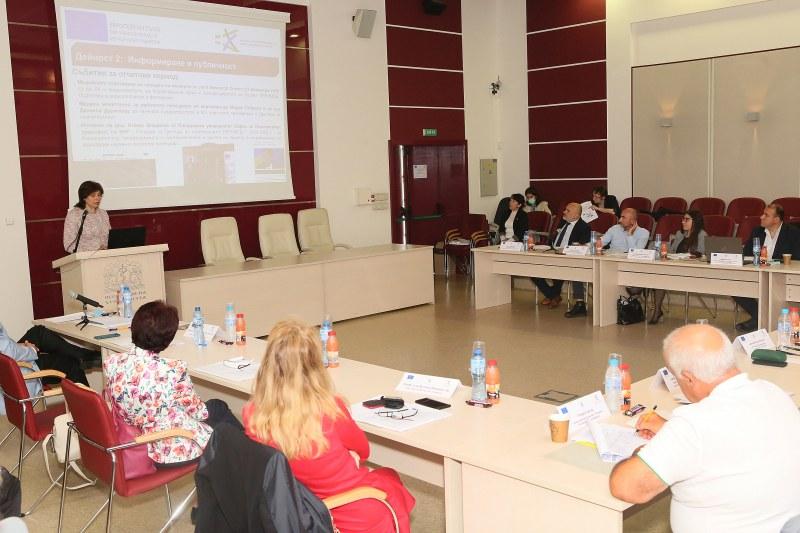Медицинският университет в Пловдив домакин на работна среща по проект за 23 млн. лв.
