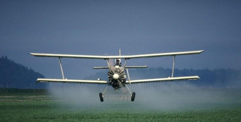 Пускат тор с авиационна техника над три местности край Белозем