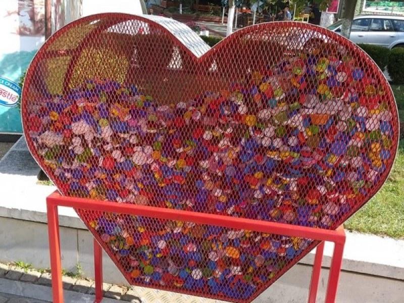 Сърце събира от днес капачки на Гребната в Пловдив