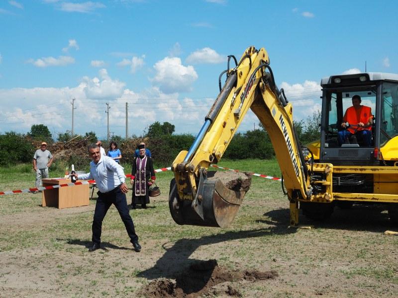 Строят водна пречиствателна станция в Граф Игнатиево, първата в Пловдивско