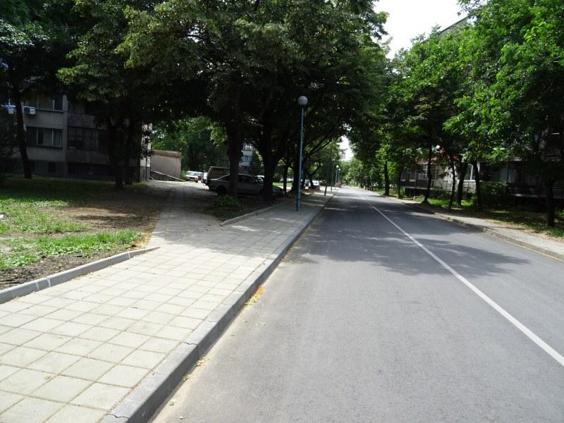 """Нови придобивки са факт на две улици в пловдивския квартал """"Гагарин"""""""