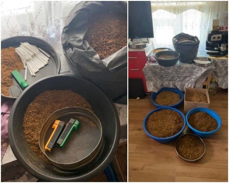 Разбиха още един цех за нелегален тютюн в Столипиново