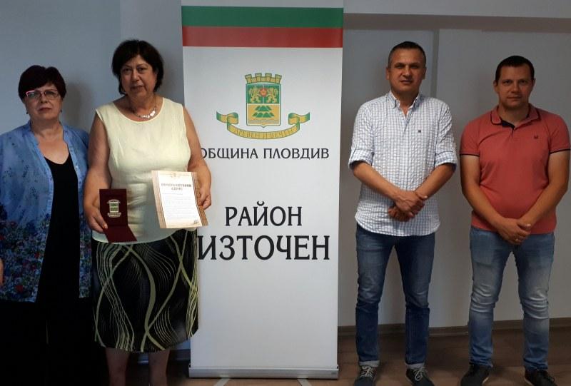 Почетен знак получи директор на пловдивска детска градина