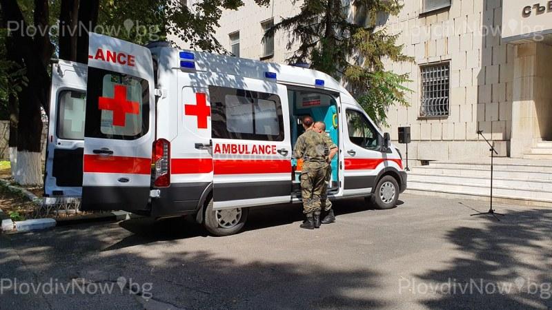 Нова и високопроходима линейка дарение за Специалните сили в Пловдив