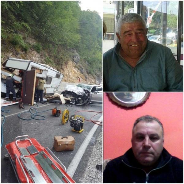 Загиналите в катастрофата край Кричим били приятели и страстни рибари