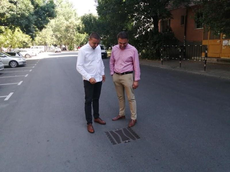 """Ударни ремонти на улици в """"Западен"""", инвестициите са за близо 1 млн. лева"""