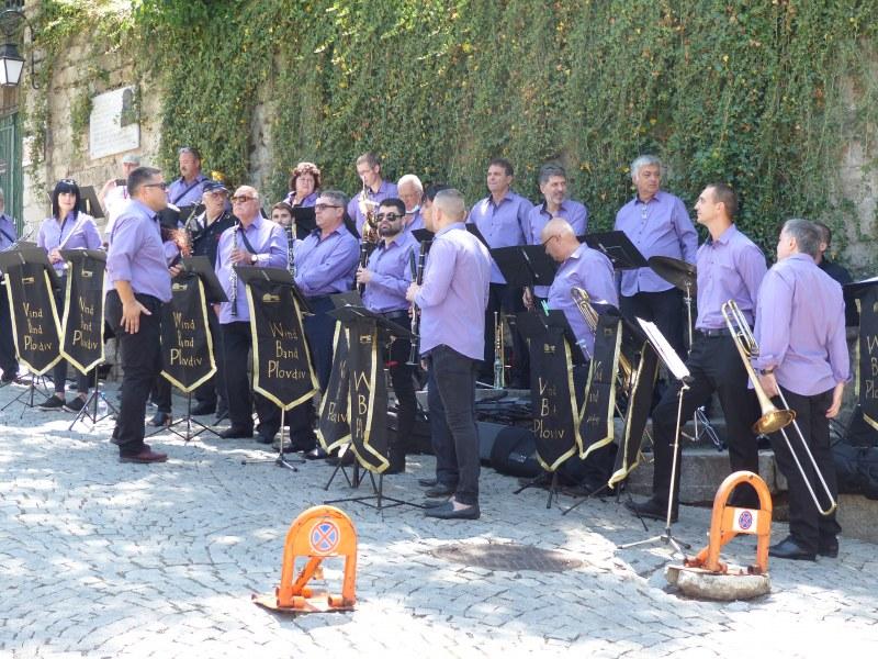 Духов оркестър Пловдив свири днес за пловдивчани в Цар Симеоновата градина