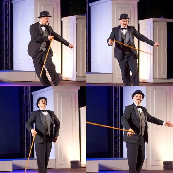 Мариан Бачев ще бъде Чарли Чаплин в мащабен мюзикъл на Античния театър в Пловдив