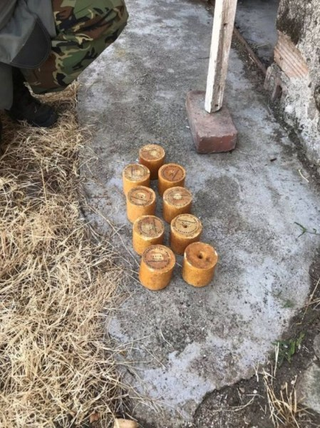 Военнослужещи унищожиха невзривени боеприпаси в пловдивско село