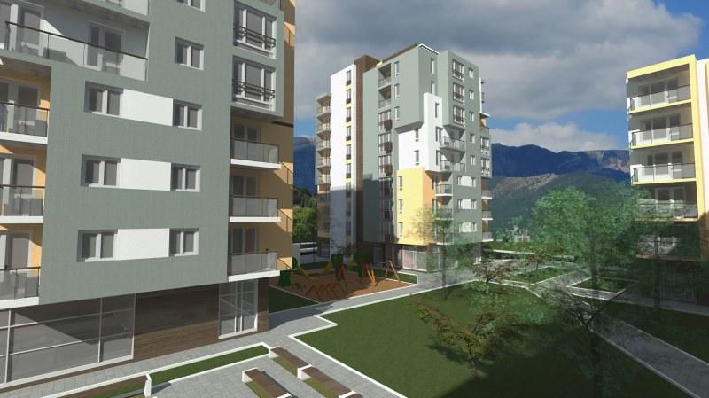 """Започва новият етап от строителството на жилищния комплекс """"Green Gardens"""", предизвикал огромен интерес"""