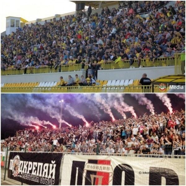 Мачът Ботев – Локо с публика, феновете се връщат по стадионите