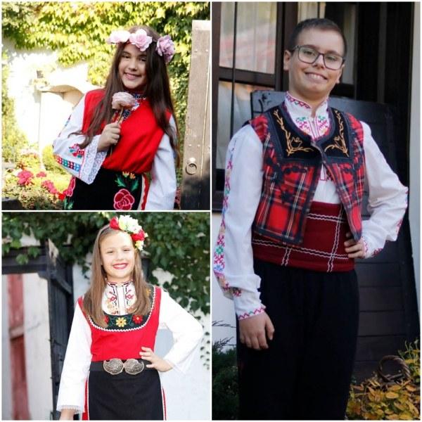 Талантливи деца от Карлово се върнаха с медали от фолклорен конкурс