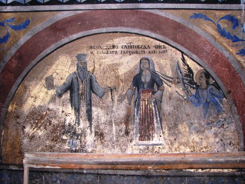 Реставрират ценни стенописи на 180-годишна църква в Родопите