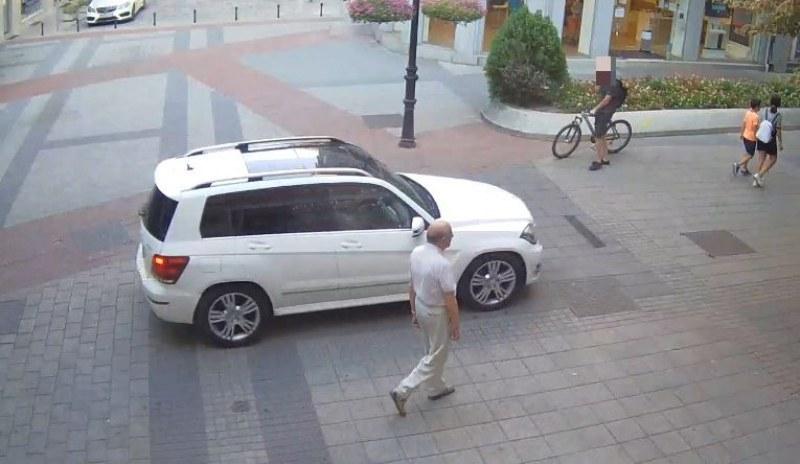 Намериха и глобиха чужденеца, тръгнал с кола по Главната в Пловдив