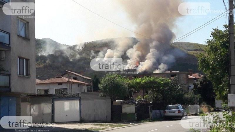 Кметът на Кричим: Огромно благодаря на хората, гасили двата пожара край града!