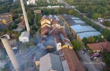 Овладяват пожара в Захарна фабрика, екипите още са на терен