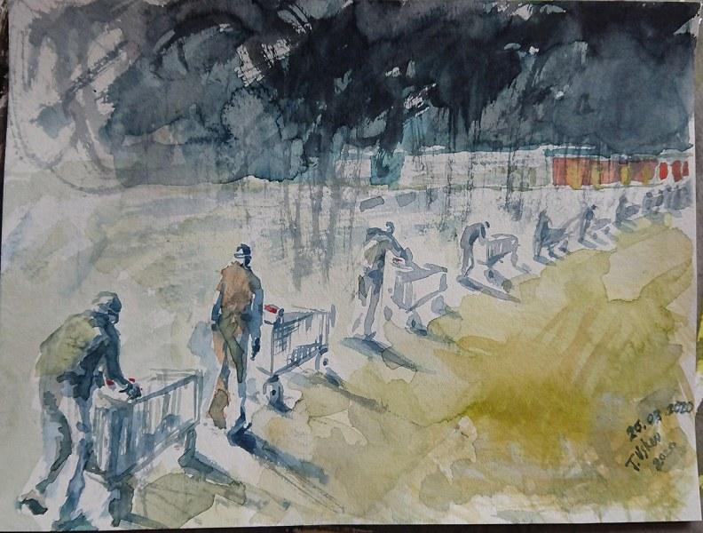 24 художници в Пловдив показват усещания от времето на изолацията