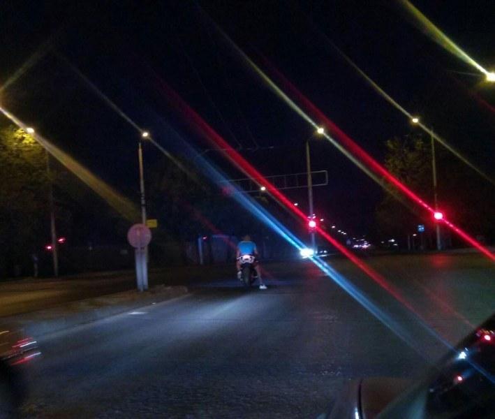 Мотористи  без номера използват пловдивски булеварди като писти