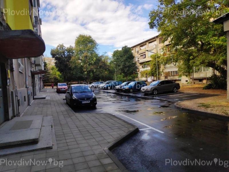 Облагородиха каре в Пловдив, което не бе виждало строителни дейности близо 50 години