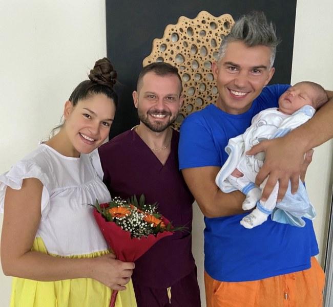Певицата Веси Бонева от Пловдив стана майка за първи път