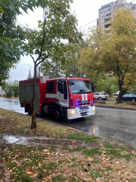 Жена подаде фалшив сигнал за пожар в Тракия, полицията я издирва