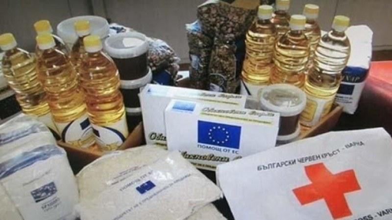 БЧК започва раздаването на хранителни пакети в Хисаря