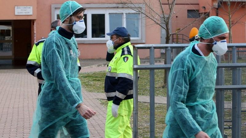 Италия отбелязва за втори пореден ден антирекорд по заразени с COVID-19