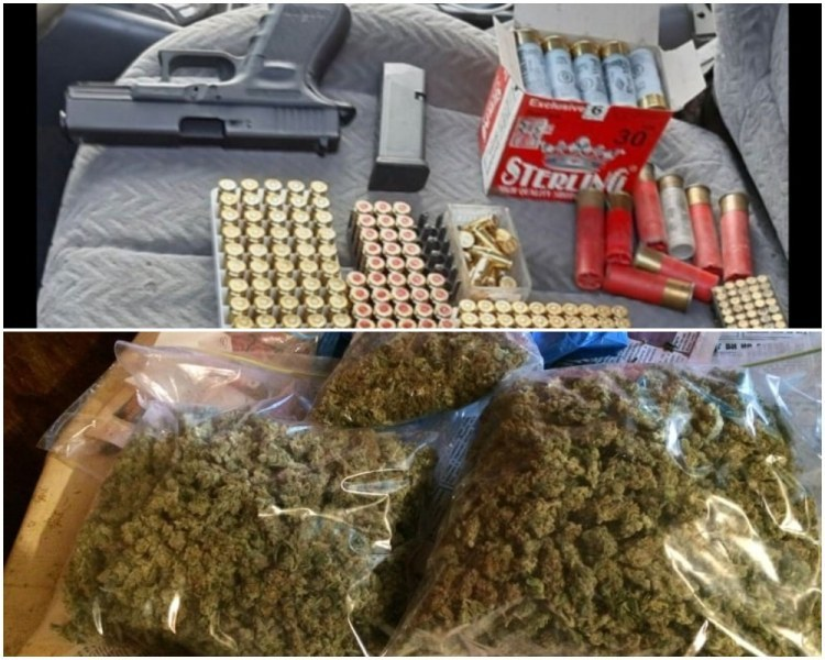 Друсан шофьор спипа полицията в Хисаря, колата му пълна с дрога и боеприпаси