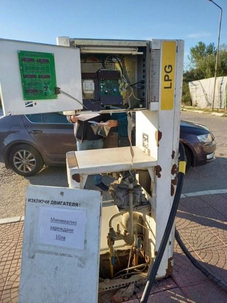 Много нарушения на бензиностанцията в Калековец, проверката тръгнала от неиздаване на касови бележки