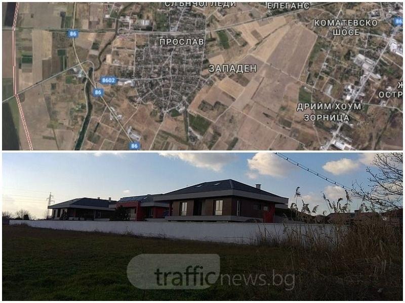 Новият луксозен квартал на Пловдив - ниско строителство и много зеленина
