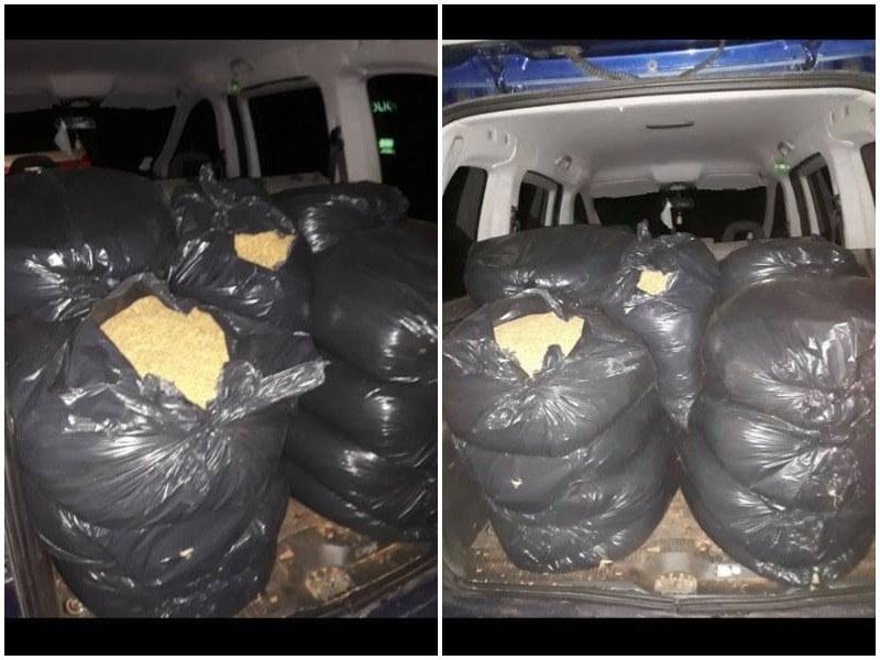 Удар на полицията в Стамболийски! Разкриха 200 кг нелегален тютюн
