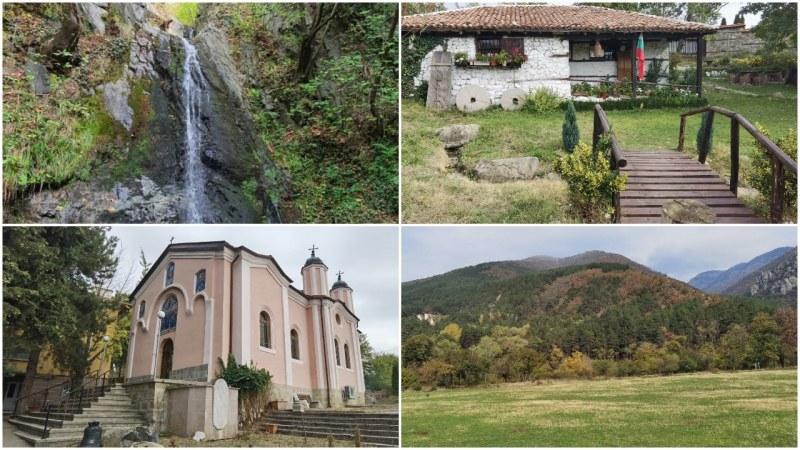 Красив водопад и пропити с история манастир и воденица на 60 км от Пловдив