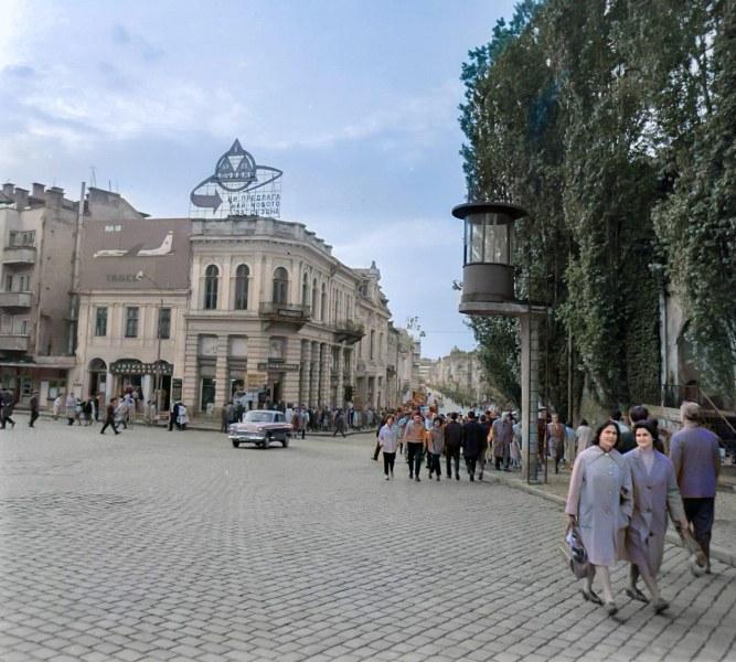 Как е изглеждал Пловдив преди половин век?