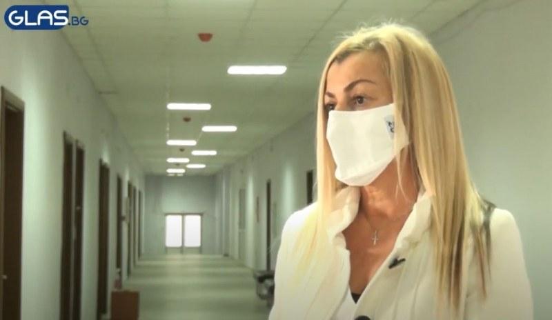 Шефката на Ковид зоната в Хисаря: Няма да лекуваме пациенти, това не е болница!