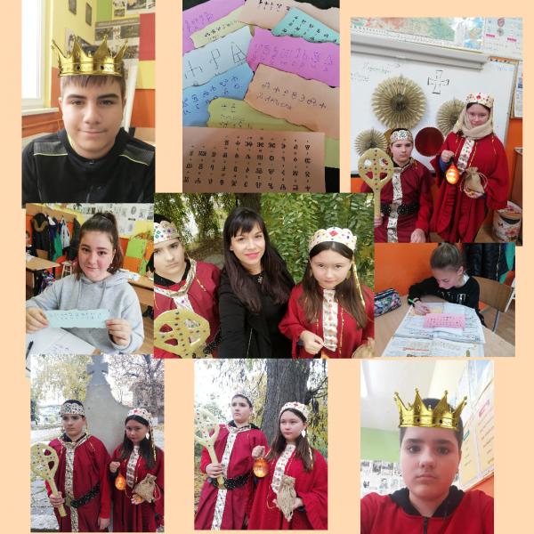 Шестокласници от село Строево се пренесоха в Първото българско царство